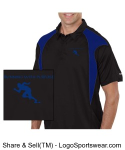 Reebok PLAYDRY Prism Polo Design Zoom